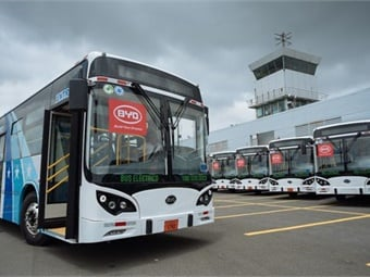 The electric bus fleet will be operated by Saucinc, a Guayaquil bus operator.