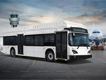 Atlanta is one of three airports to purchase BYD buses and has reduced its emissions by 70 metric tons since the launch of its two buses.