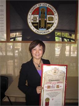 BYD's President/CEO Stella Li.