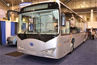BYD's All-Electric Bus