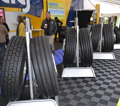 The Bandag Fleets We Depend On roadshow helped change fleets' perceptions about the reliability of retreaded tires.