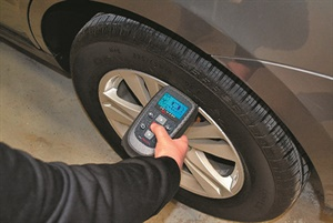 A combination style tire pressure monitoring system tool (such as this one from Bartec) can be used for what is known as the Test Before You Touch test. This tells you if the TPMS is working prior to your shop performing any service on the vehicle, saving you time and trouble.
