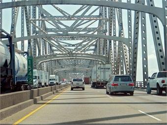 I-10 Bridge across the Mississippi River, Baton Rouge, La. Photo: Steven Martin/Flickr