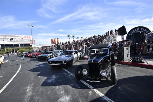 The fifth annual SEMA Battle of the Builders will be showcased in Las Vegas at the SEMA Show.