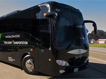 Private bus company, Bauer's Intelligent Transportation is among 36 companies, along with the world's biggest automakers and major tech companies, with a permit to test self-driving vehicles in California.