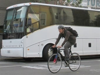 Corporate commuter shuttles have specific challenges other transit operations may not have to faceMetropolitan Transportation Commission