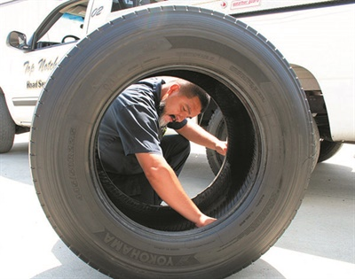 """""""A working partnership is what most dealers need,"""" says Tom Clauer from Yokohama Tire U.S.A. Corp."""