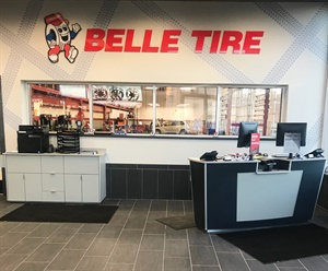 The Belle Tire store in Kokomo, Ind., is the company's 100th store.