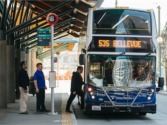 All Snohomish County ST Express routes will now use double-decker buses on their busiest trips.Courtesy of Sound Transit