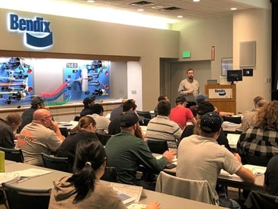 Registration is open forBendix's Air Brake Training and Advanced Technology Training courses. Photo courtesy Bendix Commercial Vehicle Systems