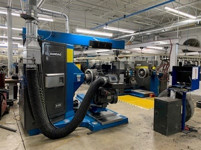 The new Best-One Tire Group retread plant in Toledo, Ohio, began operating in January 2020 with capacity for about 200 medium truck tire retreads per day.