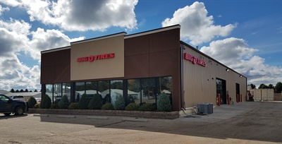 With this store in North Dakota, Big O Tires now has stores in 24 states.