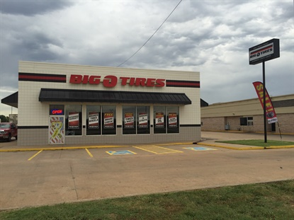 Enid, Okla. is once again home to a Big O Tires store. It's the fourth store in the state.