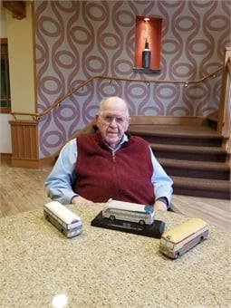 Bill Luke participated in the National Association of Motor Bus Owners as chairman of the National Scheduling Subcommittee and helped establish the Bus History Association.