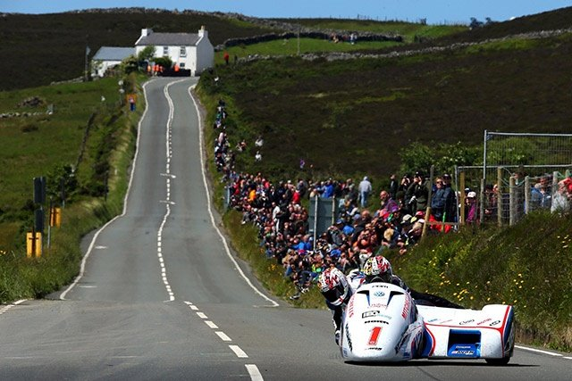 The Birchall brothers took victory in both of this TT's sidecar races.