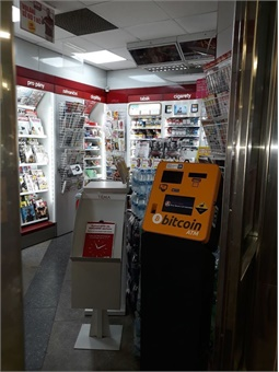 The Prague Metro recently installed ten new cryptocurrency ATMs. Photo: General Bytes