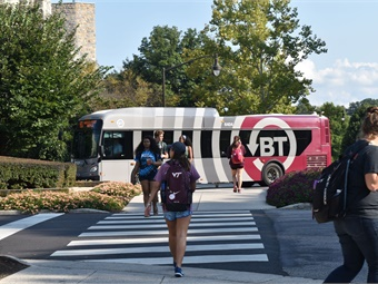 "Blacksburg Transit saw ""unprecedented ridership growth of 22% over the last three years.""