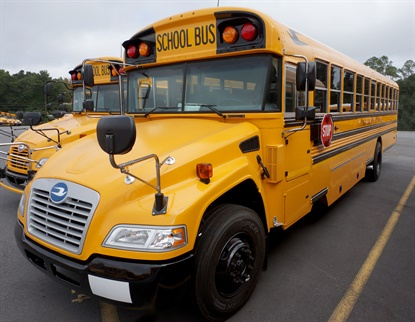 The Cooper brand of TBR tire has earned an OE fitment on Blue Bird school buses.