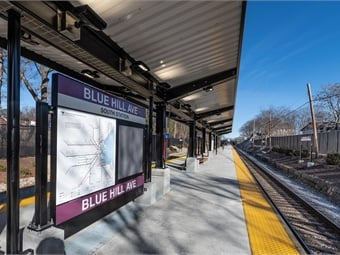 As the ninth station added to the Fairmount Line, the station is located between Fairmount and Morton Street Stations, and is approximately 6.5 miles from South Station and a quarter mile from Mattapan Square.