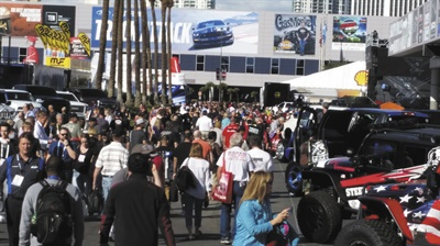Growing interest in the SEMA Show has pushed some exhibitors outside the Las Vegas Convention Center.