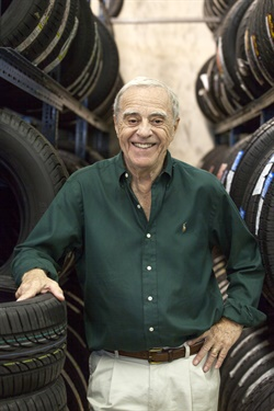 """Years ago Eisenberg said to his grandfather, Bob Mirman, """"I know what I want to do. I want to run West Coast Tire. I have a 10-year plan, and I hope in 10 years you will turn the keys over to me."""" Mirman agreed as long as he took some online college courses in accounting and marketing."""