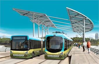 Bombardier's PrimoveCity e-mobility solution.