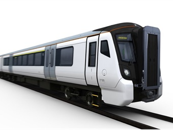 Bombardier will produce and maintain 333 electric carriages made up of 36 90 mph three-car trains for metro services and 45 110 mph five-car trains for outer suburban and long distance configurations.