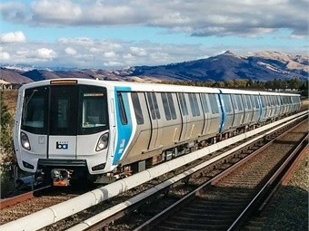 The new cars, manufactured by Bombardier at its Plattsburgh, N.Y. facility, have three doors on each side, automated announcements, video monitors that will show maps, train location, and upcoming stations, and spring-loaded bike clamps.