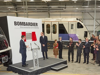 Bombardier Receives Royal Visit from HRH The Duke of Cambridge.