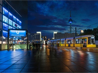 Bombardier Flexity tram for Berlin.