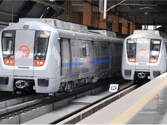 Bombardier MOVIA trains.