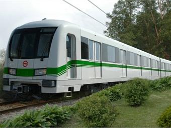Bombardier Movia Metro Shanghai