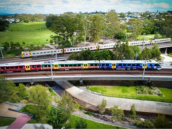 Features of the new trains include capacity for 964 passengers in each six-car train, onboard Wi-Fi and CCTV throughout the train. Photos courtesy Bombardier