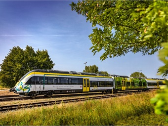 The current Talent 3 prototype is equipped with four Bombardier Mitrac traction batteries and can travel routes of around 24 miles. Bombardier Transport