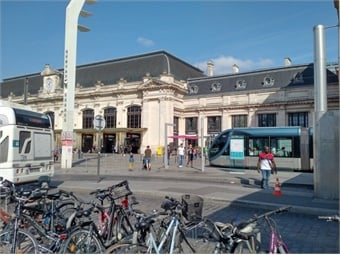 St. Jean railway station in Bordeaux.