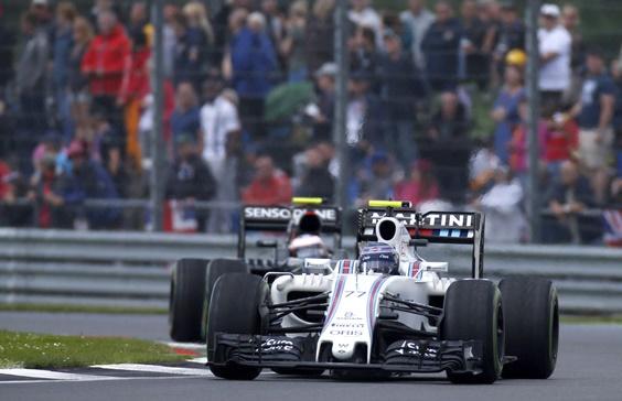 Valtteri Bottas had a challenging race at Silverstone.