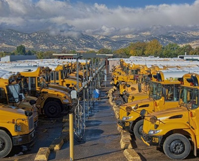 The California Energy Commission will award up to $94 million to replace aging school buses with alternative-fuel school buses. File photo