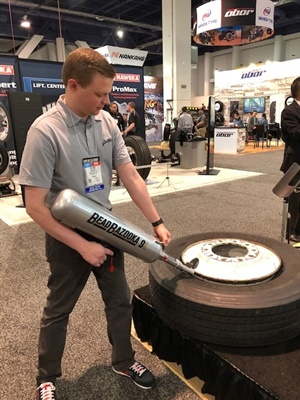 Willam Brahler says the Bead Bazooka makes seating the bead on a difficult tire very easy.