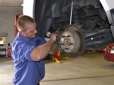 Approaching brakes, ride control and tires as systems to be serviced together, not separately, helps service advisors and automotive technicians make more accurate service recommendations to their customers, say industry experts.