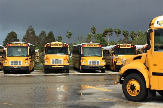 How Brevard Public Schools Handled Hurricane Irma School Bus Fleet