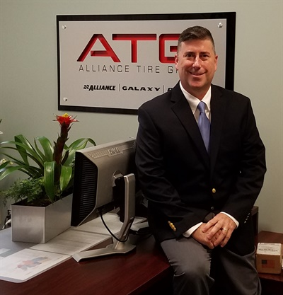 Brian Sheehey is the new vice president of marketing for Alliance Tire Americas. He is based at the company's headquarters in Wakefield, Mass.
