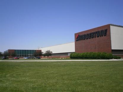 The OTR tire factory in Bloomington, Ill., produces .29 OTR tirs a day, according to Modern Tire Dealer's Facts Issue.