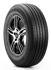 Bridgestone's Dueler H/L Ecopia 422 provides a car-like ride while handling the forces and accelerations of the CUV.