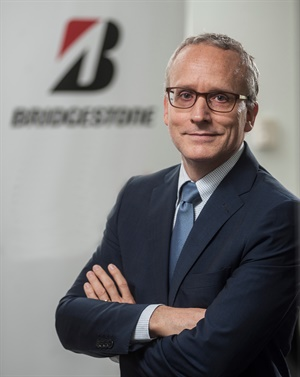 Laurent Dartoux will lead Bridgestone's European operations as president and CEO. He is replacing Paolo Ferrari.