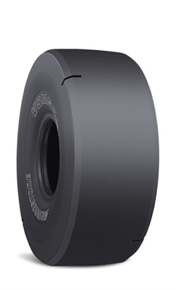 Bridgestone says the VSMS2 OTR tire provides improved cut resistance and tread wear life, which contributes to lower operating costs.