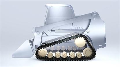 Bridgestone debuted the Vortech track line at ConExpo.