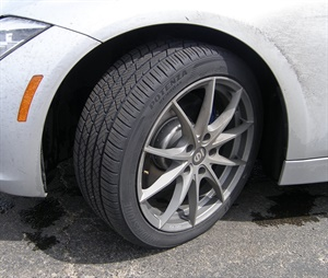 The new Potenza RE980AS is an ultra-high performance all-season tire engineered for crisp handling year round.