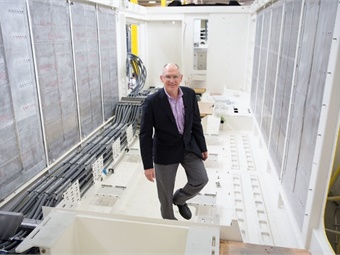 Michael Cahill, president of Siemens Rolling Stock. Brightline