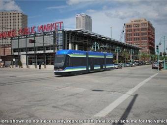 Brookville Equipment Corp. vehicle for City of Milwaukee.
