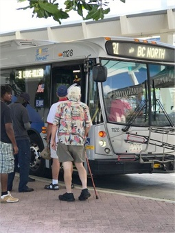 Broward County Transit services are now fully operational. The agency is the second-largest transit system in Florida and also services locations in Palm Beach and Miami-Dade Counties. Photo: Broward County Transit